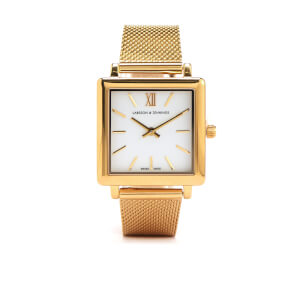 Larsson & Jennings Norse 34mm Milanese Strap Watch - Gold