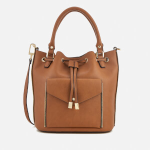 Dune Women's Damzele Drawstring Bucket Bag - Tan