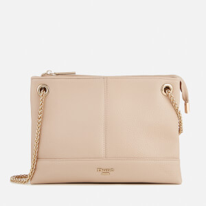 Dune Women's Eholly Triple Compartment Cross Body Bag - Nude