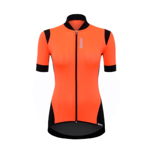 Santini Women's Wave Jersey - Orange