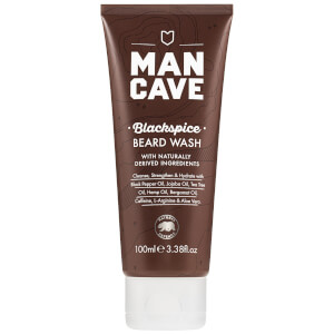 Gel de Limpeza de Barba - Blackspice da ManCave 100 ml