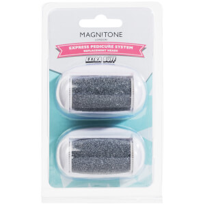 Magnitone London Well Heeled! Express Pedicure Ersatzrollerkopf Extra Buff (2pack)