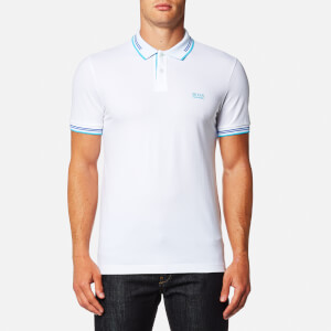 BOSS Green Men's Paul Polo Shirt - White