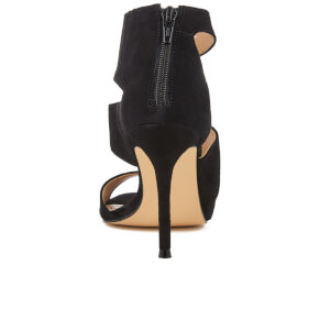 Carvela Women's Gene Suede Triple Strap Heeled Sandals - Black: Image 3