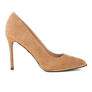 KG Kurt Geiger Women's Beauty Suede Court Shoes - Nude
