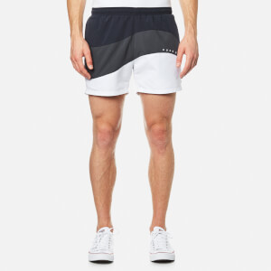 BOSS Hugo Boss Men's Butterflyfish Swimshorts - Open Grey