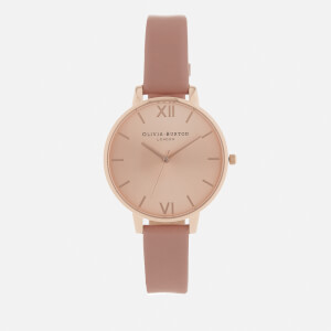 Olivia Burton Women's Big Dial Watch - Rose/Rose Gold