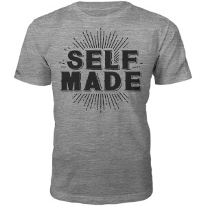 Männer Self Made T-Shirt - Grau
