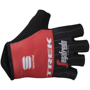 Sportful Trek-Segafredo BodyFit Pro Race Gloves - Black/Red/White