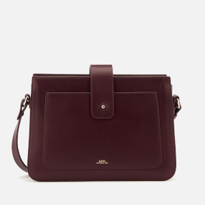 A.P.C. Women's Albane Cross Body Bag - Wine