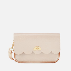The Cambridge Satchel Company Women's Small Cloud Bag - Rose Gold Celtic Grain