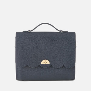 The Cambridge Satchel Company Women's Convertible Cloud Backpack - Navy Celtic Grain