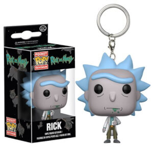 Rick and Morty Rick Pocket Funko Pop! Keychain