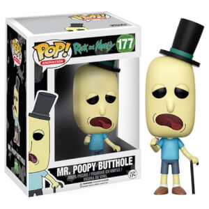 Rick and Morty Mr. Poopy Butthole Pop! Vinyl Figura