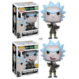 Rick and Morty Weaponized Rick Pop! Vinyl Figur