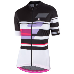 Nalini Women's Dolomiti Short Sleeve Jersey - Black/White