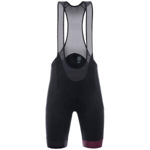 Santini Giro d'Italia 2017 Maglia Nero Bib Shorts - Black