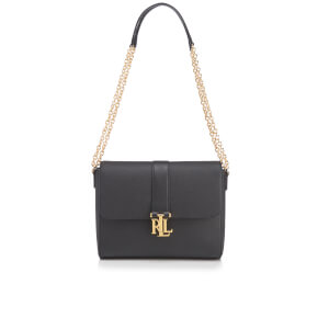 Lauren Ralph Lauren Women's Carrington Gabbi Shoulder Bag - Black