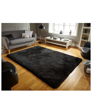 Flair Pearl Pearl Rug - Black