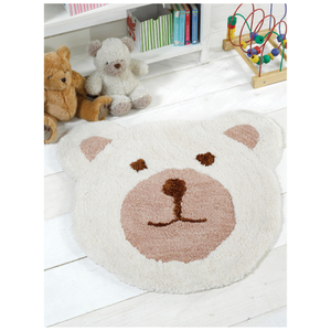 Flair Nursery Teddy Bear Rug - Natural (75X80)