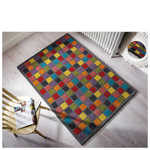 Flair Illusion Campari Rug - Multi (160X230)