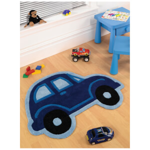 Tapis Flair Kiddy Play Rugs - Voiture (80X100)