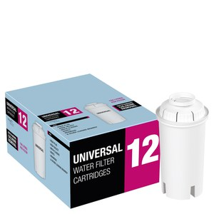 Universal Aqua Optima Water Filter Cartridges (12 Pack)