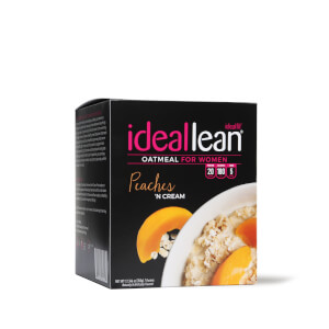 IdealLean Oatmeal - Peaches n Cream