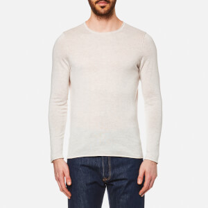BOSS Orange Men's Kamiro Light Weight Knitted Jumper - Open White