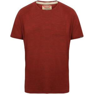 Camiseta Tokyo Laundry Grotto - Hombre - Rojo jaspeado