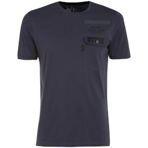 Dissident Men's Millcare Pocket T-Shirt - Slate Blue