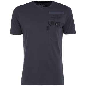 T-Shirt Homme Millcare Poche Dissident - Bleu Ardoise