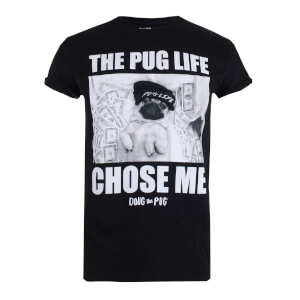 Doug The Pug Women's Chose Me T-Shirt - Black