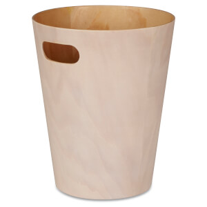 Umbra Woodrow Waste Can - White