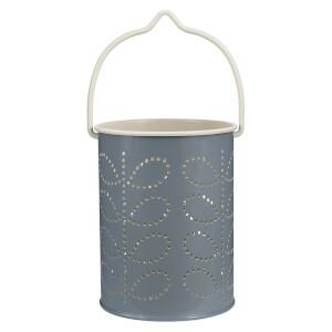 Orla Kiely Tealight Lantern - Cool Grey