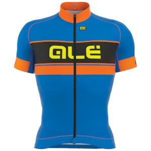 Alé Graphics PRR Bermuda Jersey - Blue/Orange
