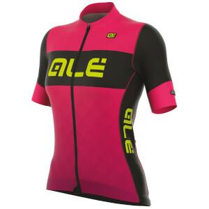 Alé Women's R-EV1 Rumbles Jersey - Pink