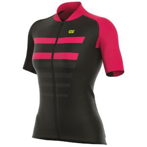 Alé Women's R-EV1 Piuma Jersey - Black/Pink