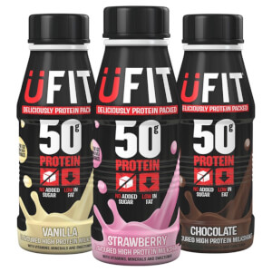 UFIT High Protein Milkshake - 6 x 500ml