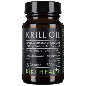 KIKI Health Krill Oil Softgels (30 kapsler)