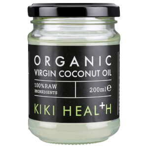 KIKI Health Organic Raw Virgin Coconut Oil olej kokosowy 200 ml
