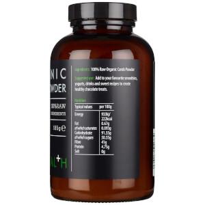 KIKI Health Organic Carob Powder 185g: Image 3