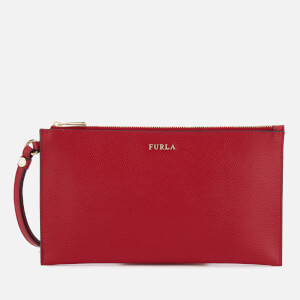Furla Women's Babylon XL Envelope Clutch Bag - Ruby