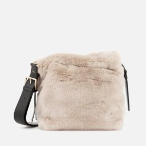 Furla Women's Caos Small Drawstring Bag - Cream