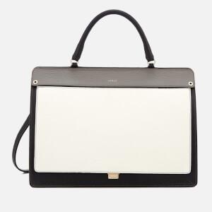 Furla Women's Like Mini Top Handle Bag - Onyx, Petalo and Argilla C