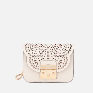 Furla Women's Metropolis Bolero Mini Cross Body Bag - White