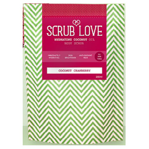 Scrub Love Coconut Body Scrub - Coconut Cranberry