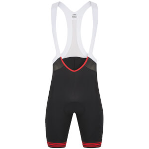 Look Ultra Bib Shorts - Black/Red