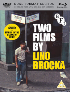 Two Films By Lino Brocka (Manilla In The Claws Of Light And Insiang) - Dual Format (Includes DVD)