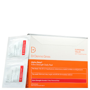 Dr Dennis Gross Skincare Alpha Beta Extra Strength Daily Peel (Pack of 60)